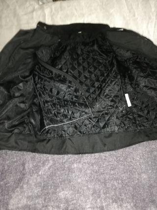 chaqueta moto de mujer