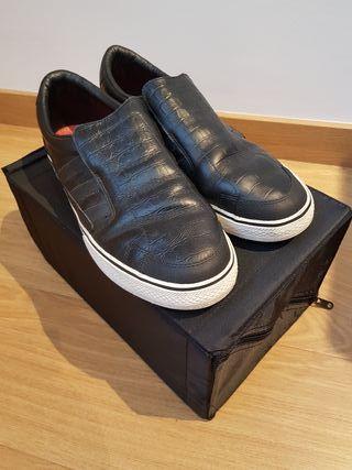Adidas Super Skate piel color negro talla 45 1/3