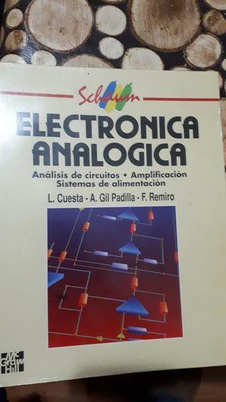 Electrónica Analógica, editorial Mc Graw Hill.