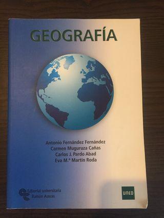 Geografía UNED