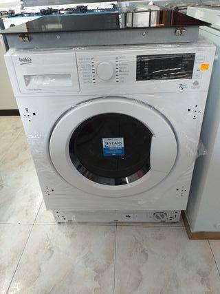 Lavadora- Secadora integrable Beko 7+5 kg