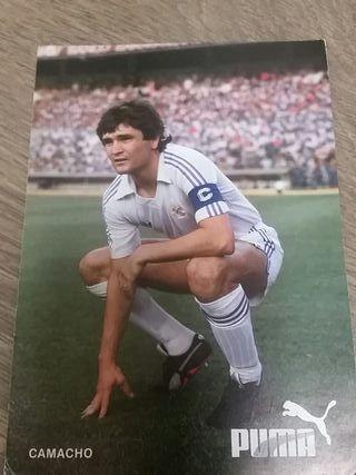 Postal Camacho Real Madrid