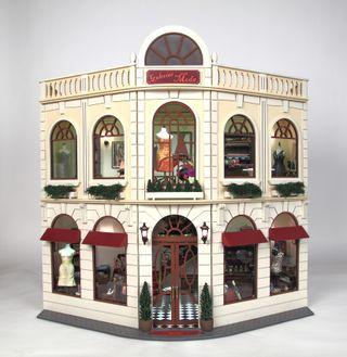 Casa de muñecas escala 1/12 GALERIAS COMERCIALES
