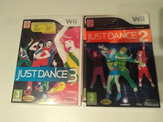 just dance 2 y 3 wii