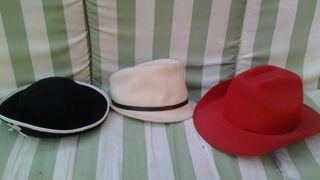 Sombrero / sombreros fiesta, disfraz carnaval, etc