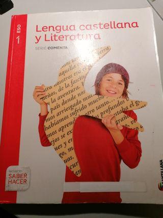 Libro texto Lengua castellana y Literatura