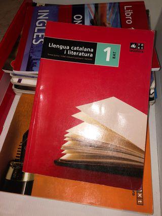 Libro 1 bachillerato Lengua catalana i literatura