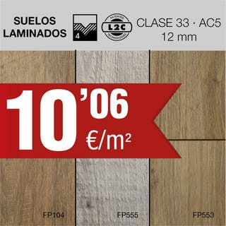 FLoorpan ,Suelo laminado AC5/12mm Floorpan