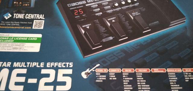 PEDALERA GUITARRA BOSS ME25 ME-25