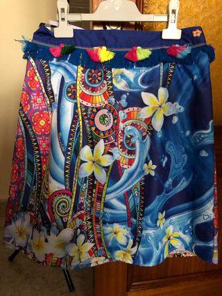 Falda estamoada
