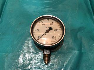 Manómetro presión wika 250 bar