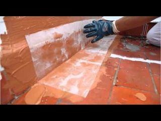 trabajos en fibra de vidrio terrazas humedades