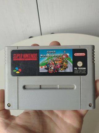 Mario kart de super Nintendo Pal España