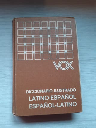 DICCIONARIO VOX LATINO-ESPAÑOL ESPAÑOL-LATINO
