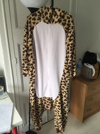 Mono pijamas leopardo