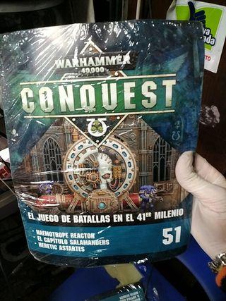 fascículo 51 Warhammer conquest 40.000 nuevo