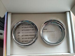 Kit difusores de aire cromados de Seat Ibiza