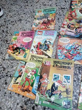 comics Mortadelo y Filemón y zipi y zape