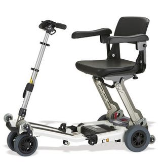 Silla de ruedas eléctrica plegable scooter Luggie