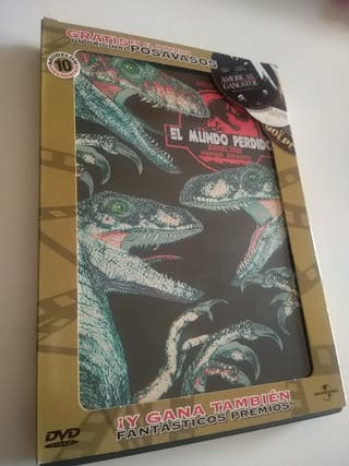 DVD Jurassic Park, el mundo perdido