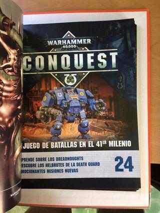 Revistas fasciculos Conquest