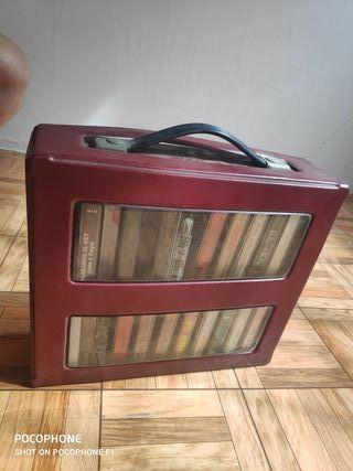 Caja casetts antiguos