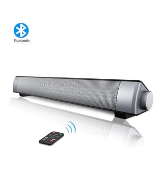 NUEVA Barra sonido TV, PC, altavoz inemlabrico