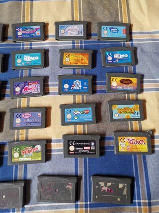 Lote 29 juegos GameBoy Advance