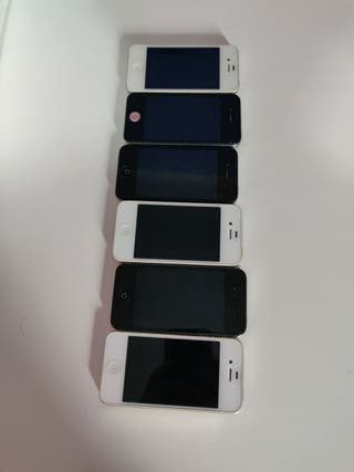 6 iPhone4. para piezas.