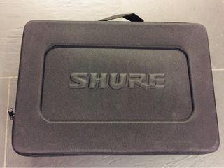 Flycase maleta o maletin shure microfono blx