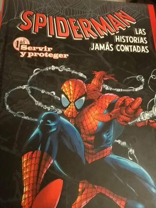Mini saga Spiderman las historias jamás contadas