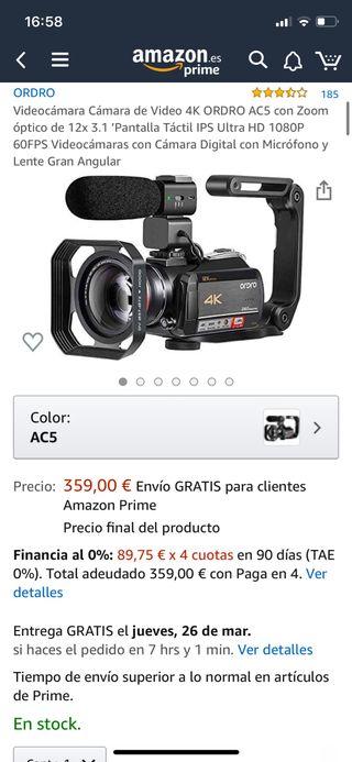 Videocámara Cámara de Video !nuevo!