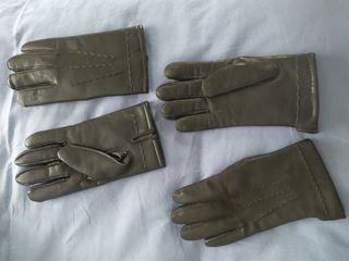2 pares de guantes de hombre