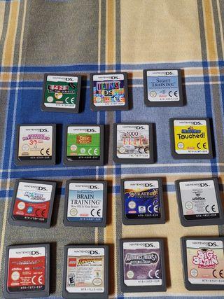 Lote juegos Nintendo DS