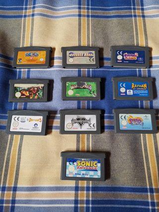 Lote Juegos GBA
