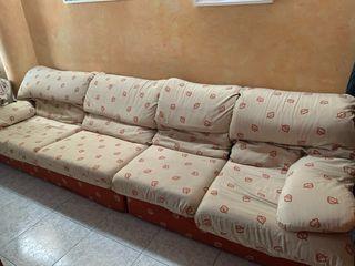 Vendo sofás de tela