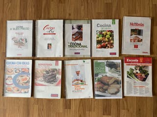 Libros de cocina encuadernados