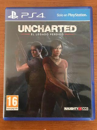 Juego PS4 Uncharted: El Legado Perdido