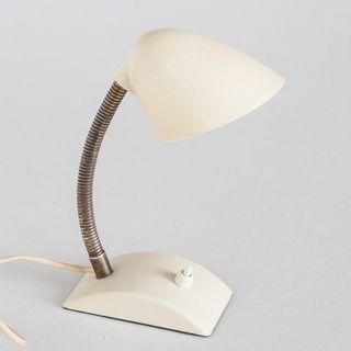 Lámpara flexo vintage. Baquelita. Francia, 50's