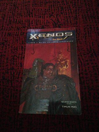 novela Xenos Warhammer 40000