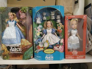 Alicia 3 muñecas