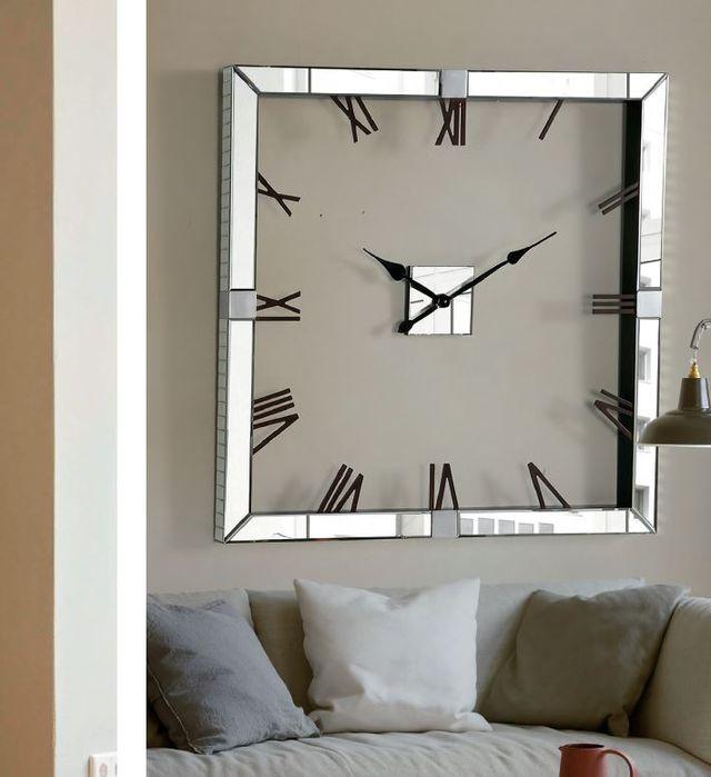 Reloj de pared redondo o rectangular a estrenar