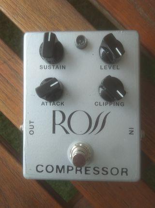 pedal guitarra compresor Ross (clon)