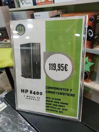 ordenador torre I5, 320 HDD 4GB,