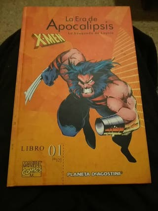 Cómics X-men la era de la Apocalipsis