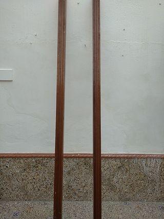 pérgolas decoración de madera de 2,40de larga son