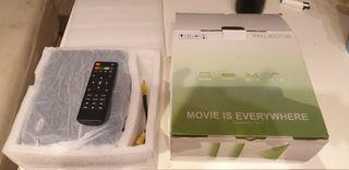 Proyector con Smart tv, Netflix etc..LED Xsagon