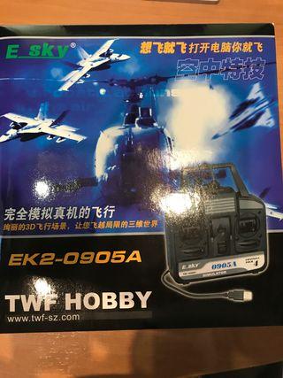 Simulador de juego de avion EK2-0905A