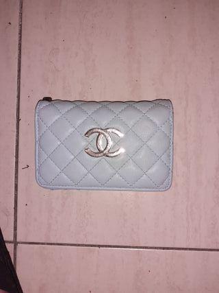 Cartera Chanel azul