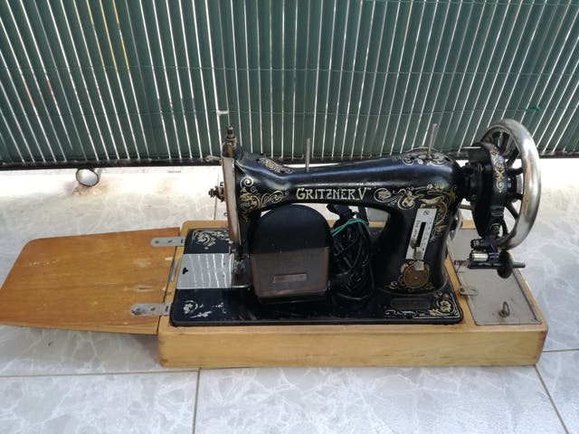 Máquina de coser Gritzner Durlach de segunda mano por 300